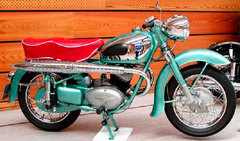 Photo of a 1960 Adler MBS 250 S