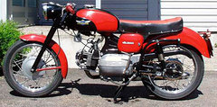1957 Aermacchi 175 Ala Bianca