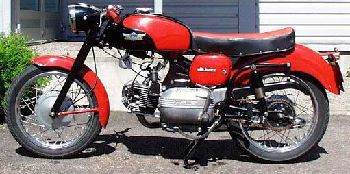 1964 Aermacchi 175 Ala Bianca