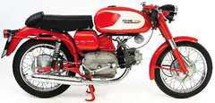 Photo of a 1958 Aermacchi 175 Ala Rossa