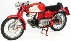 Photo of a 1967 Aermacchi 250 Ala Verde serie 1