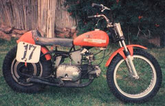 Photo of a 1962 Aermacchi 250 CRTT