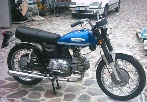 1971 Aermacchi Spirit 350