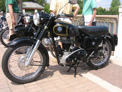 Photo of a 1957 AJS Model 16 350 MS