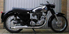 Photo of a 1957 AJS Model 16 350 Spectre
