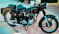 Photo of a 1964 AJS Model 18 500 Statesman