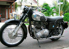 Photo of a 1956 AJS Model 20 500