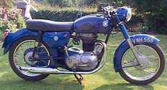 Photo of a 1962 AJS Model 8 350