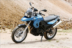 Photo of a 2009 BMW F650GS