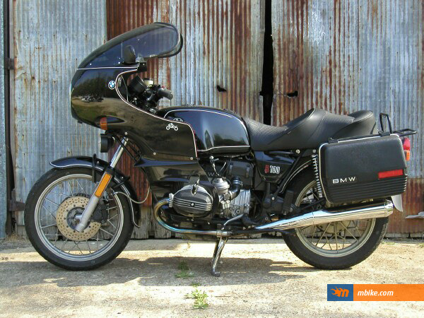 bmw r100 1981 motorcycle photos and specs