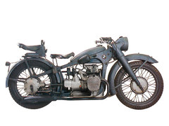 Photo of a 1938 BMW R12 Army