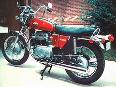 Photo of a 1972 BSA A 65 Lightning