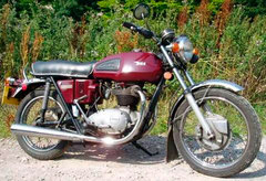 Photo of a 1970 BSA A 65 Thunderbolt
