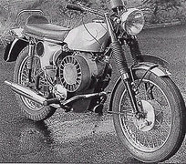 Photo of a 1969 BSA Prototype