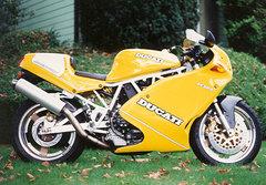 Photo of a 1996 Ducati 900 SL Superlight