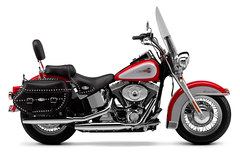 Photo of a 2001 Harley-Davidson FLSTCI Heritage Softail Classic Injection