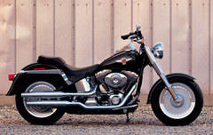 Photo of a 2005 Harley-Davidson FLSTF Fat Boy