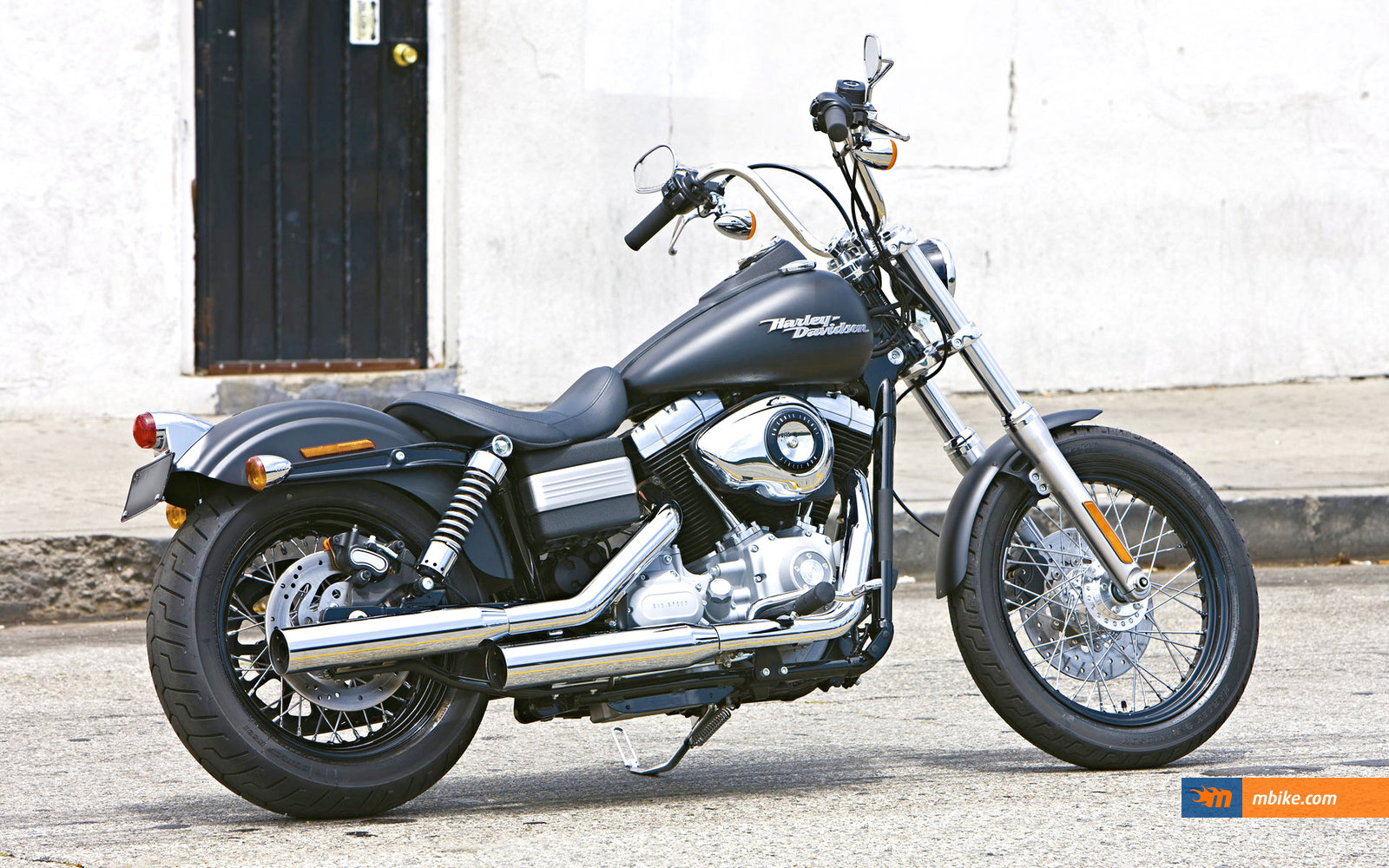 2009 Harley-Davidson FXDC Dyna Super Glide Custom Wallpaper - Mbike.com