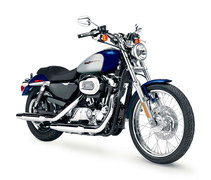 Photo of a 2006 Harley-Davidson XL1200C Sportster Custom
