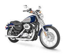Photo of a 2007 Harley-Davidson XL1200C Sportster Custom