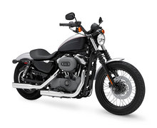 Photo of a 2009 Harley-Davidson XL1200N Sportster Nightster