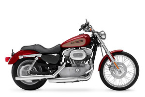 The 883 Sportster is Harley
