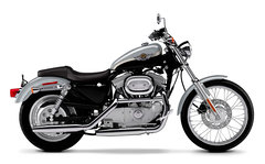 Photo of a 2003 Harley-Davidson XL883C Sportster Custom