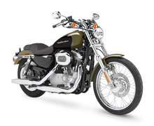 Photo of a 2007 Harley-Davidson XL883C Sportster Custom