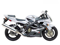 Photo of a 2002 Honda CBR 600 F
