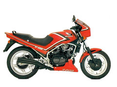 Photo of a 1986 Honda VF 400 F