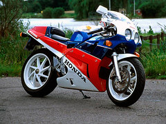Photo of a 1992 Honda VFR 750 R / RC 30