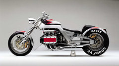 Photo of a 2001 Honda VTX1800 concept