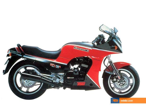 1985 Kawasaki GPZ 750 R