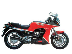 Photo of a 1985 Kawasaki GPZ 750 R