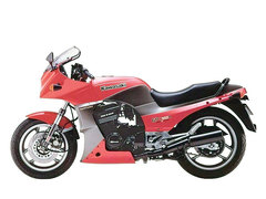 Photo of a 1987 Kawasaki GPZ 900 R