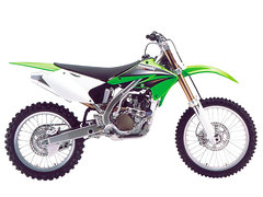 Photo of a 2004 Kawasaki KX 250