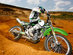 Photo of a 2007 Kawasaki KX 450 F