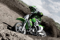 Photo of a 2007 Kawasaki KX 65