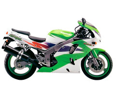 Photo of a 1997 Kawasaki Ninja ZX-6 R