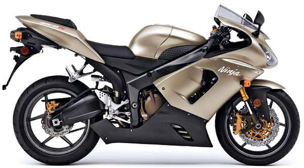 2005 Kawasaki Ninja ZX-6 RR