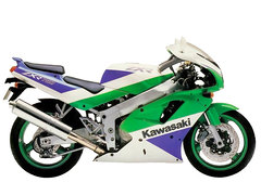 Photo of a 1995 Kawasaki ZXR 750