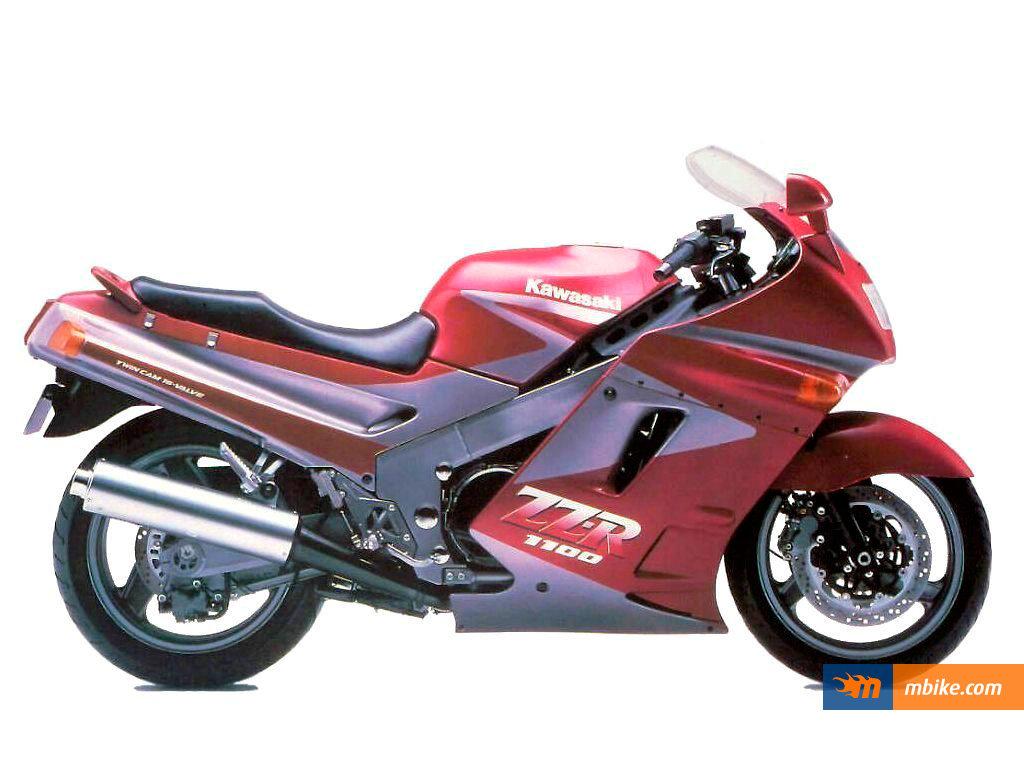 1990 Kawasaki ZZR 1100 Wallpaper - Mbike.com
