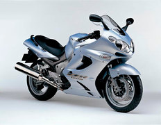 Photo of a 2003 Kawasaki ZZR 1200