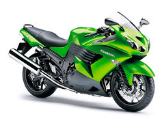 Photo of a 2009 Kawasaki ZZR 1400