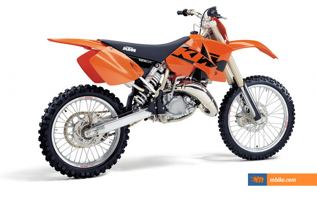 2003 ktm 125 sx picture - mbike