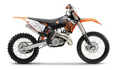 Photo of a 2010 KTM 150 SX