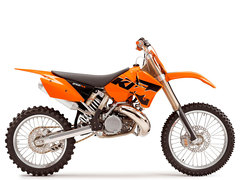 Photo of a 2009 KTM 250 SX