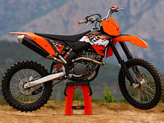 Photo of a 2009 KTM 505 SX-F