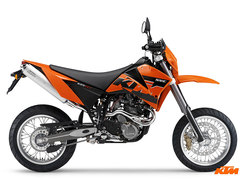 Photo of a 2007 KTM 625 SMC