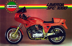 Photo of a 1985 Laverda 1000 SFC